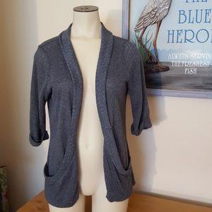 Kirra open front grey cardigan Size M